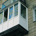 Остекление балконов и лоджий алюминиевым профилем от компании Талисман в Новосибирске