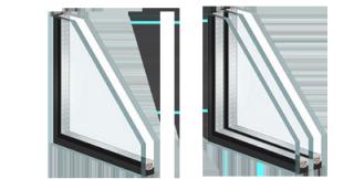 Однокамерный и двухкамерный стеклопакет от компании Талисман в Новосибирске