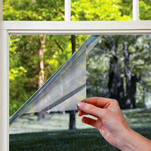 Наличие зеркальных пленок на окнах от компании Талисман в Новосибирске